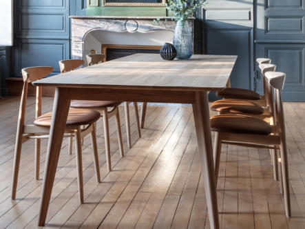 Vincent-Sheppard-Dan-dining-table-Teo-oak-dining-chairs